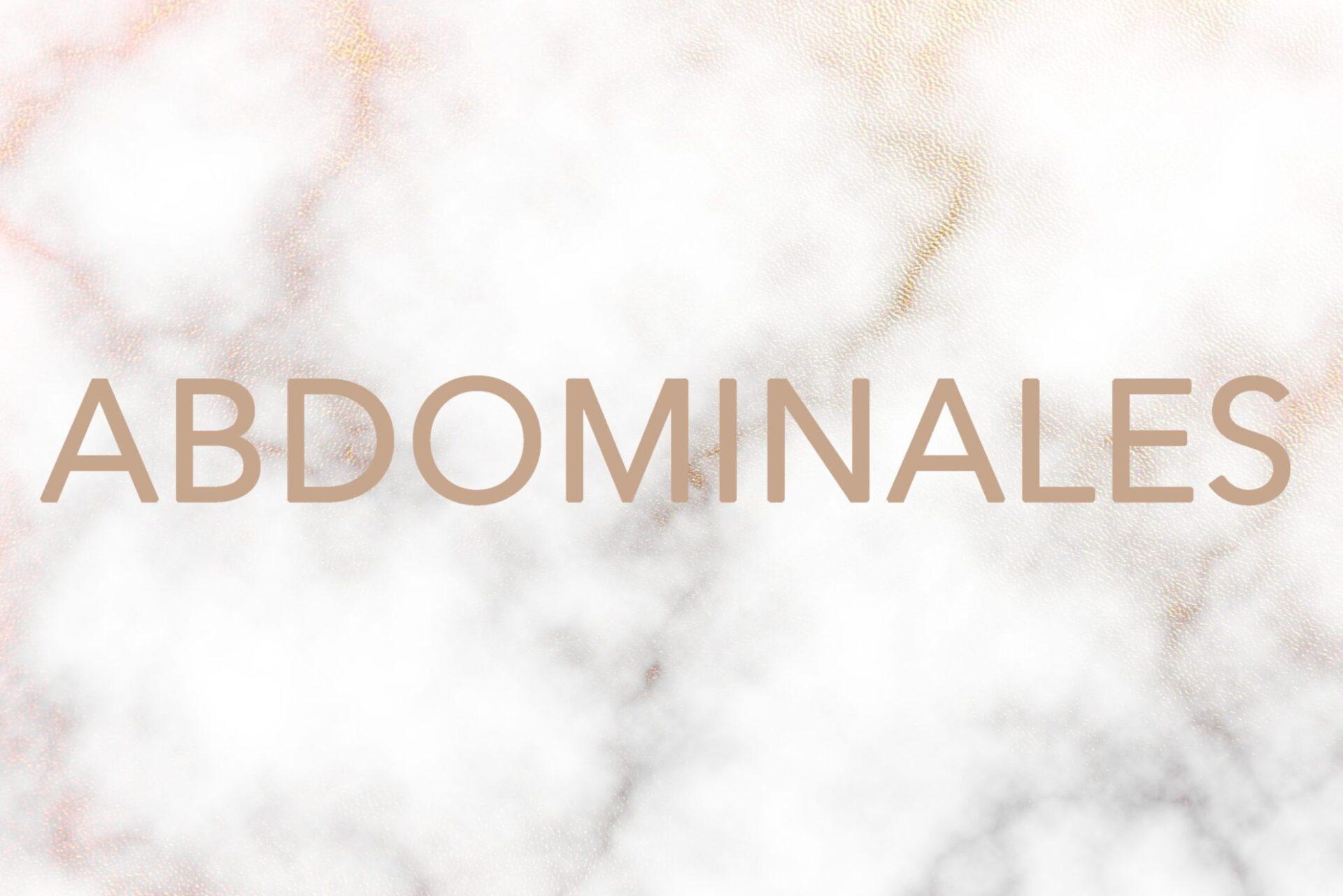 ABDOMINALES 2