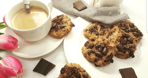 cookies crema cacahuete chocolate