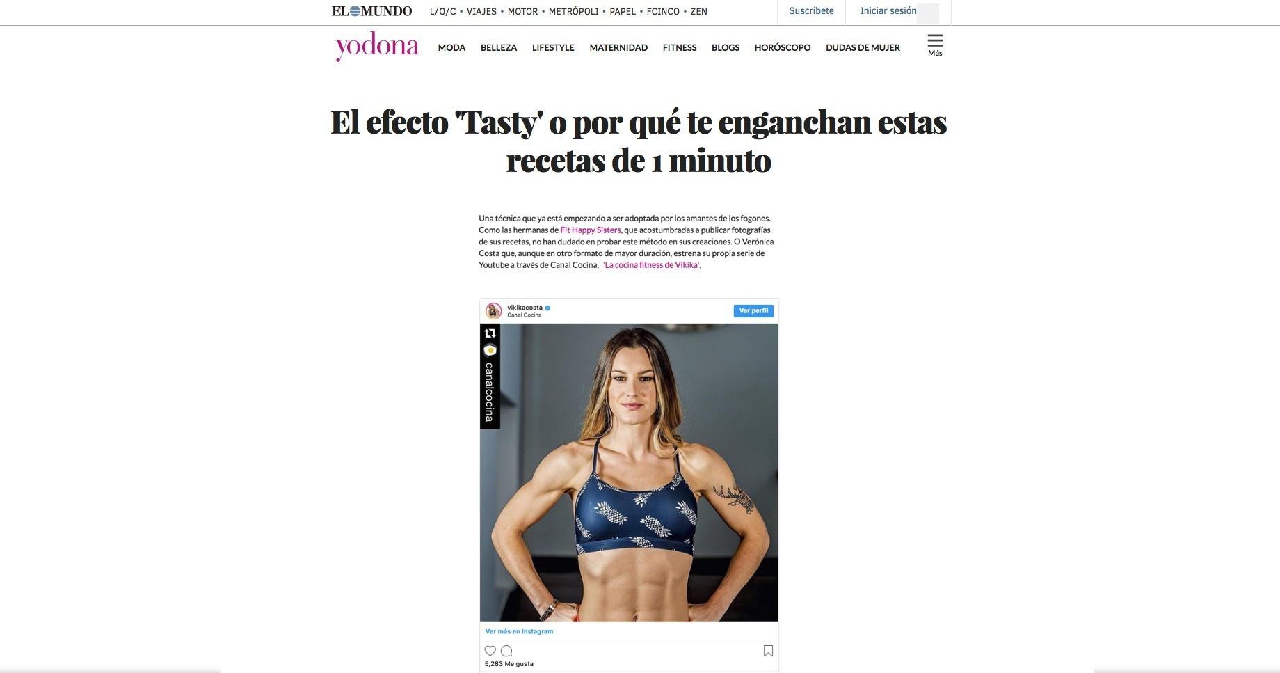 El Mundo YoDona FitnessRunning Nutrición 16 03 16