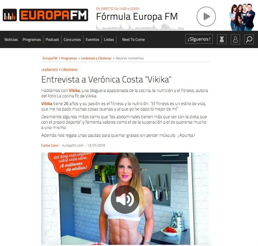 EuropaFM Levantate y Cardenas 13 01 16 1