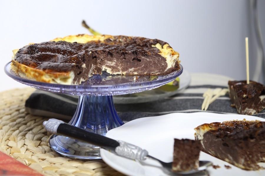 CheeseChocolate Cake Vikika