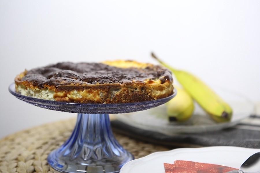 Cheese&chocolate cake