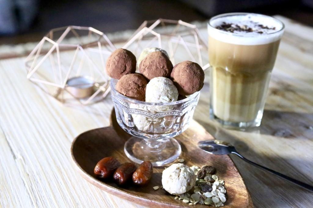 PROTEIN BALLS CHOCOLATE Y VAINILLA