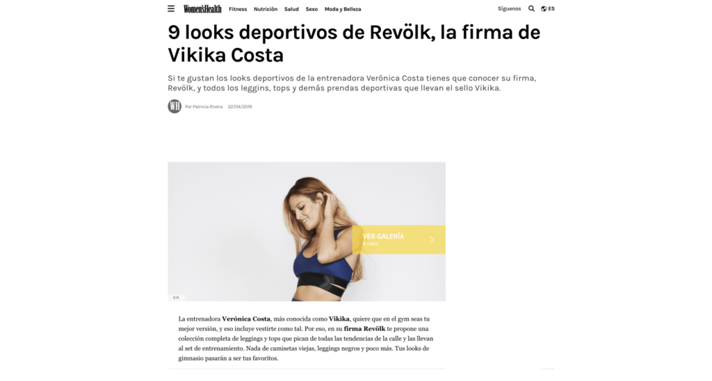 LOOKS DEPORTIVOS DE REVÖLK