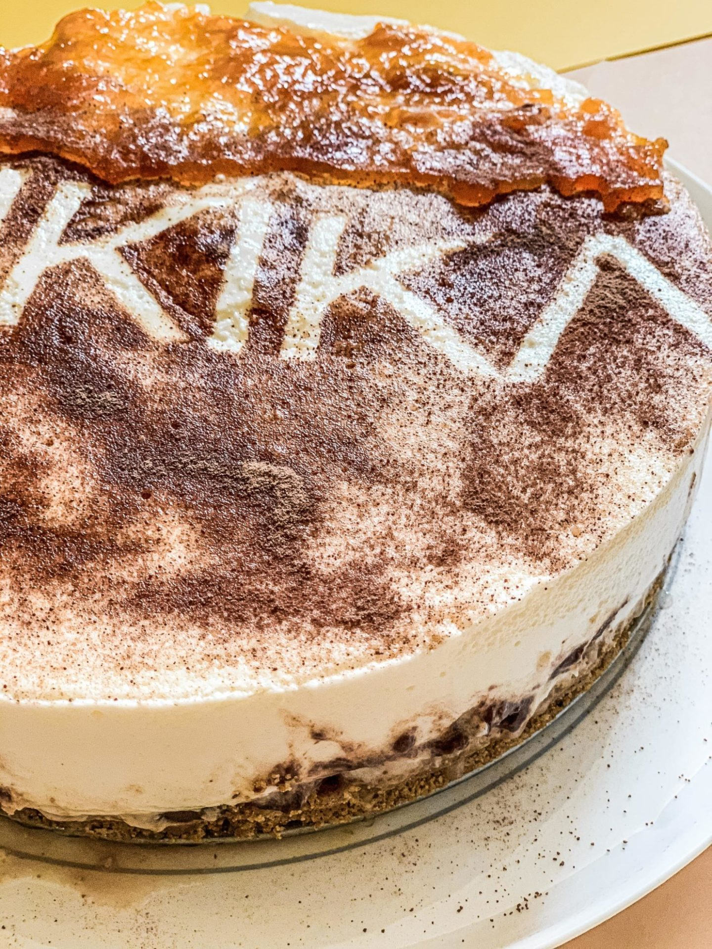 BANOFFEE CHEESECAKE FIT