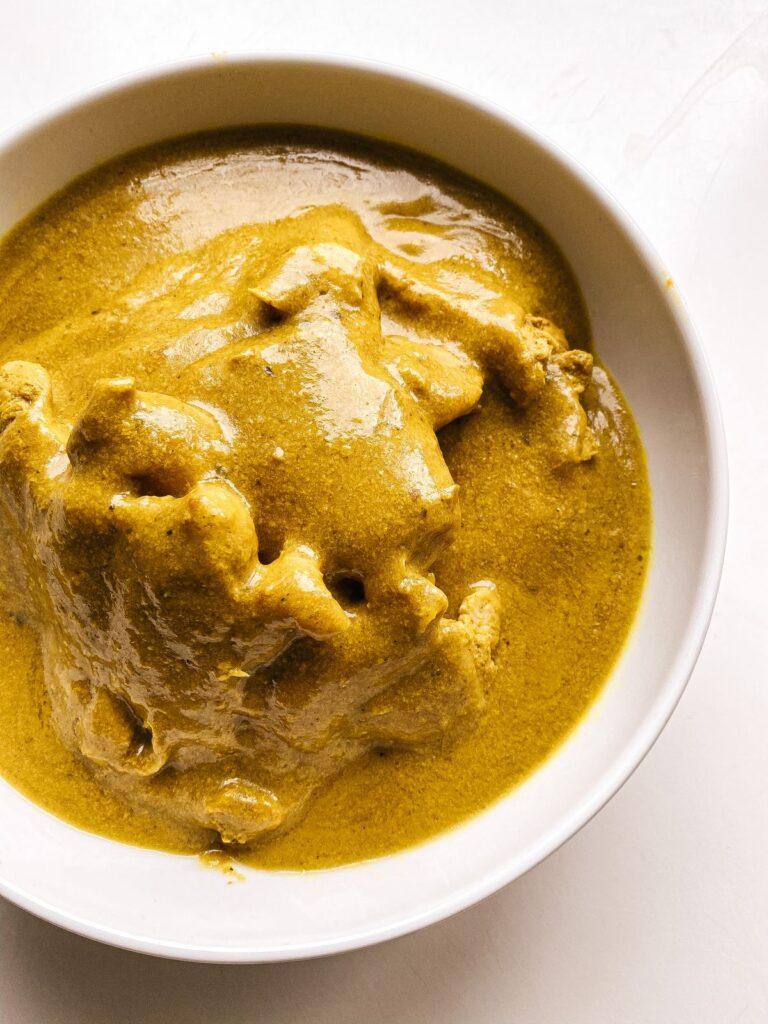 pollo al curry fit