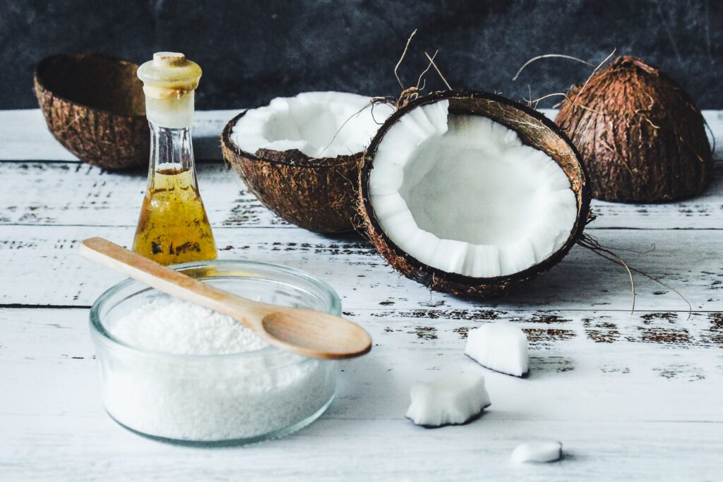 aceite de coco como cosmético