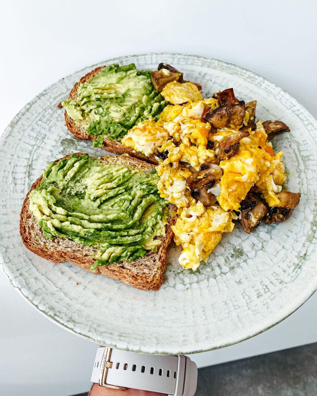 desayuno para empezar el día con energía