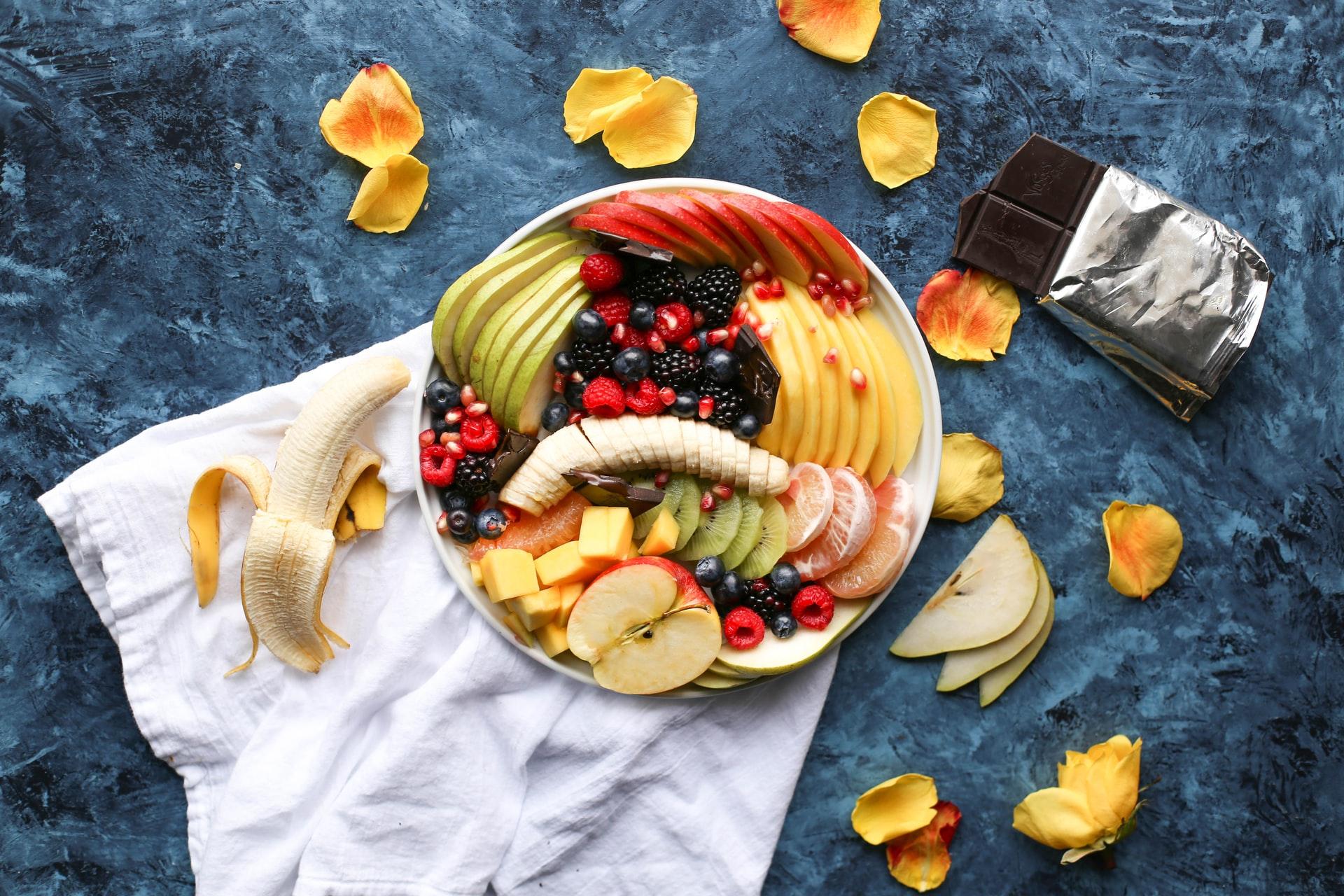 snacks con fruta