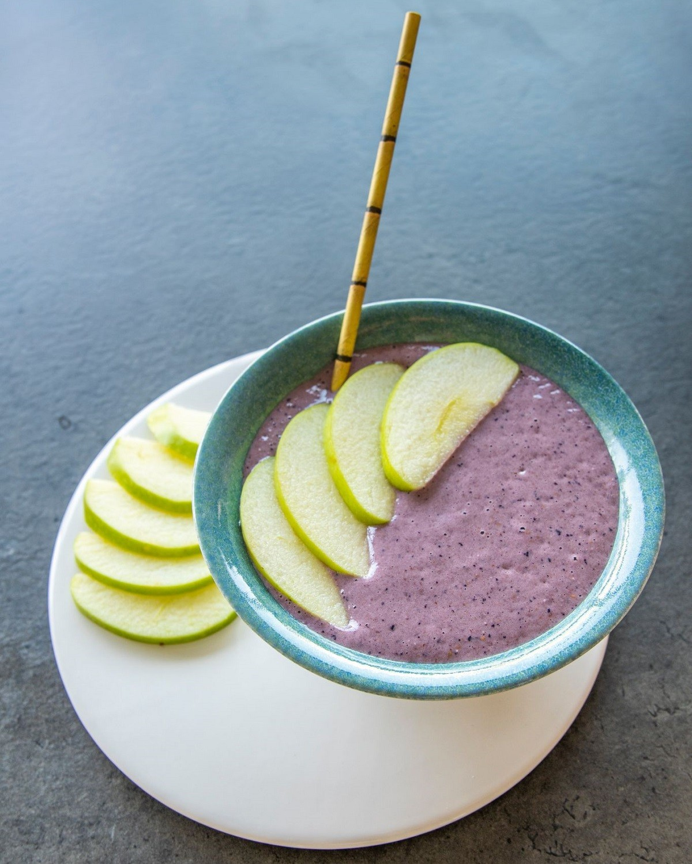 snack con fruta
