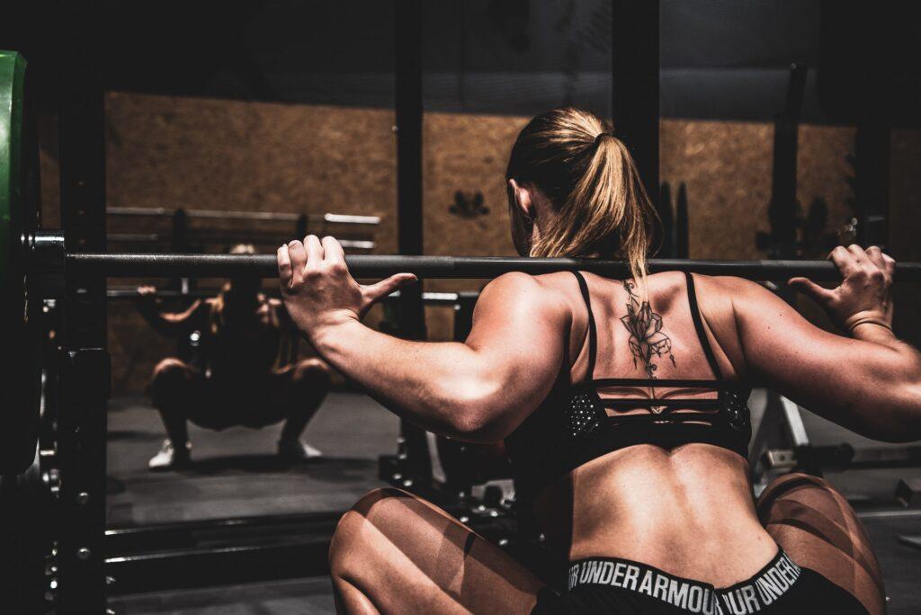 entrenamiento de fuerza mujeres