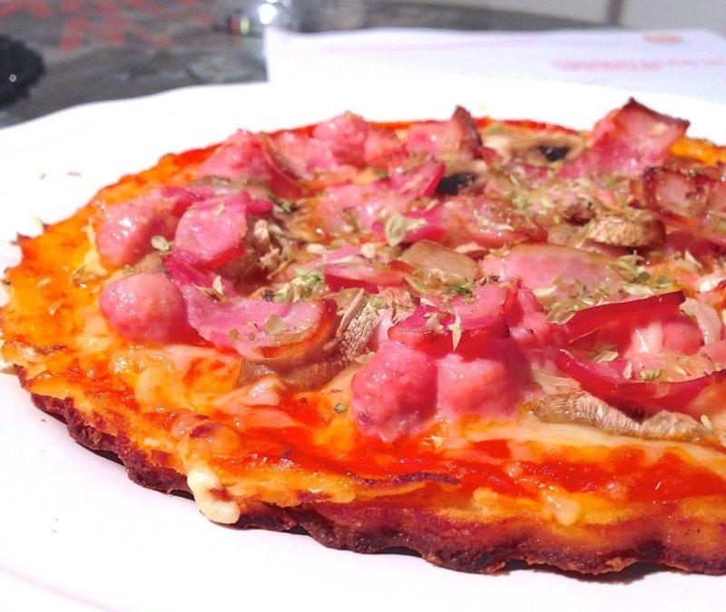 RECETA CETOSIS/ Pizza sin hidratos