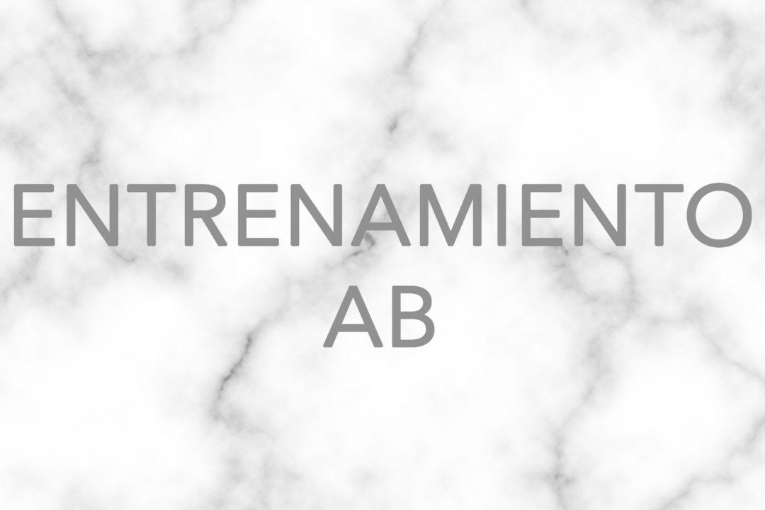 RETOS/ Entrenamiento AB(semana3/3) #21diasconhabitosfit