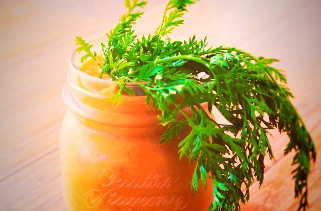 RECETA FITNESS/ Smoothie 4 Orange smoothie; 5 días 5 smoothies