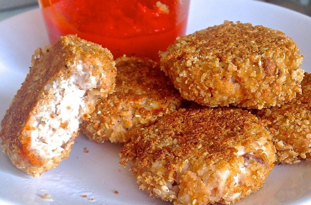 RECETA FITNESS/ Nuggets de pollo sin grasa