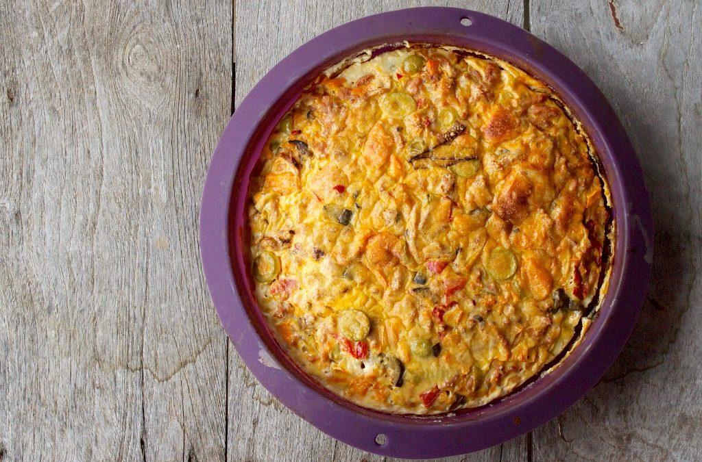 RECETA FITNESS&PALEO/ Frittata de pollo y boniato