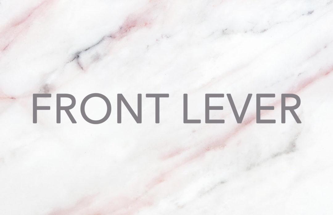 ENTRENAMIENTO/ Cómo conseguir un Front Lever