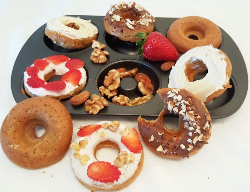 RECETA/ Fit Donuts