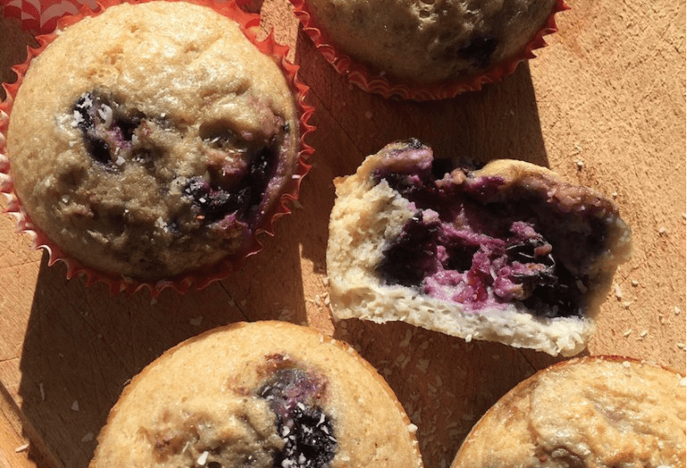 RECETA/ Blueberry muffins