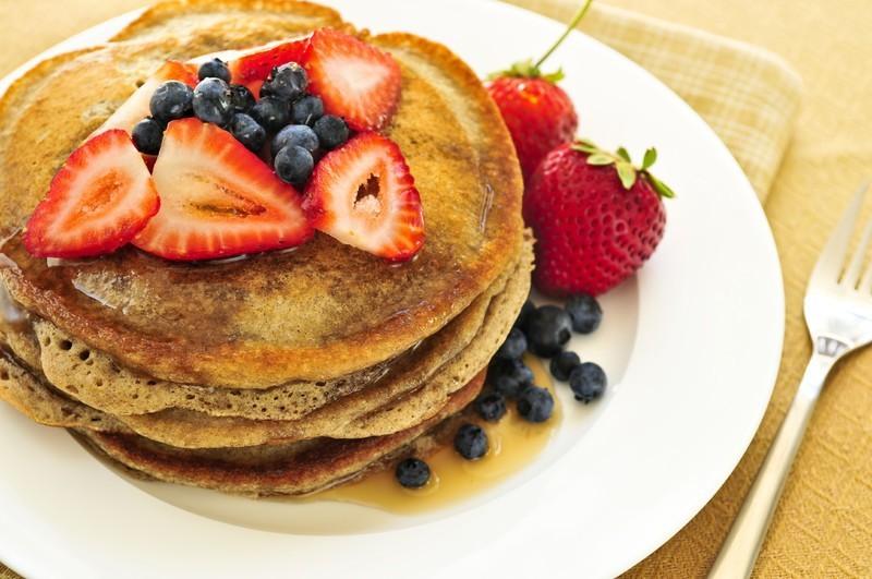 RECETA/ Pancakes de avena y calabaza