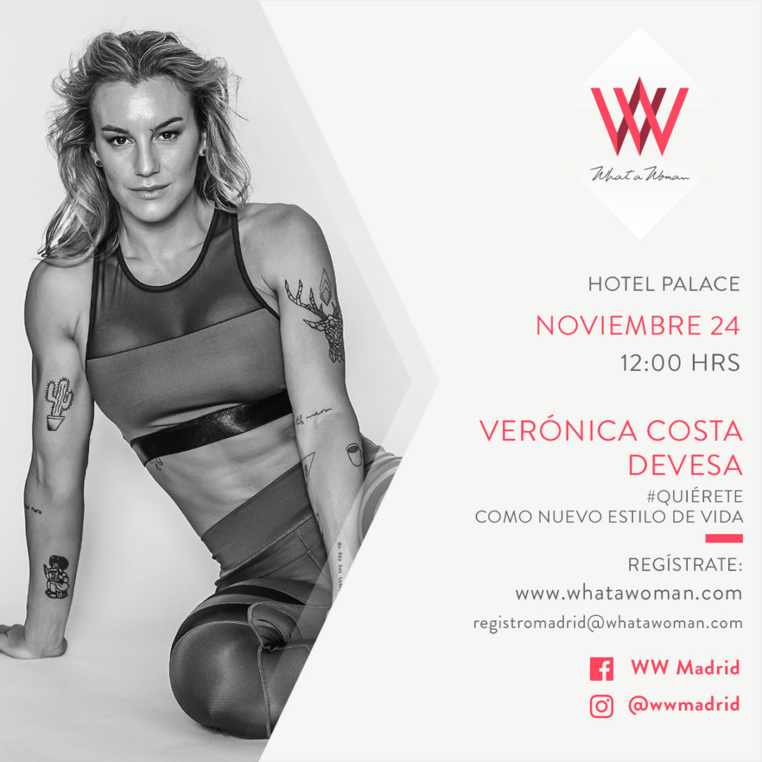 Vikika y What a woman en Madrid. ¡Ven a verme!