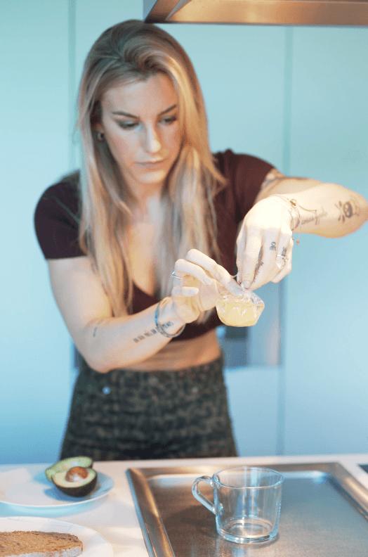 Avocado Toast Huevo Poche Vikika