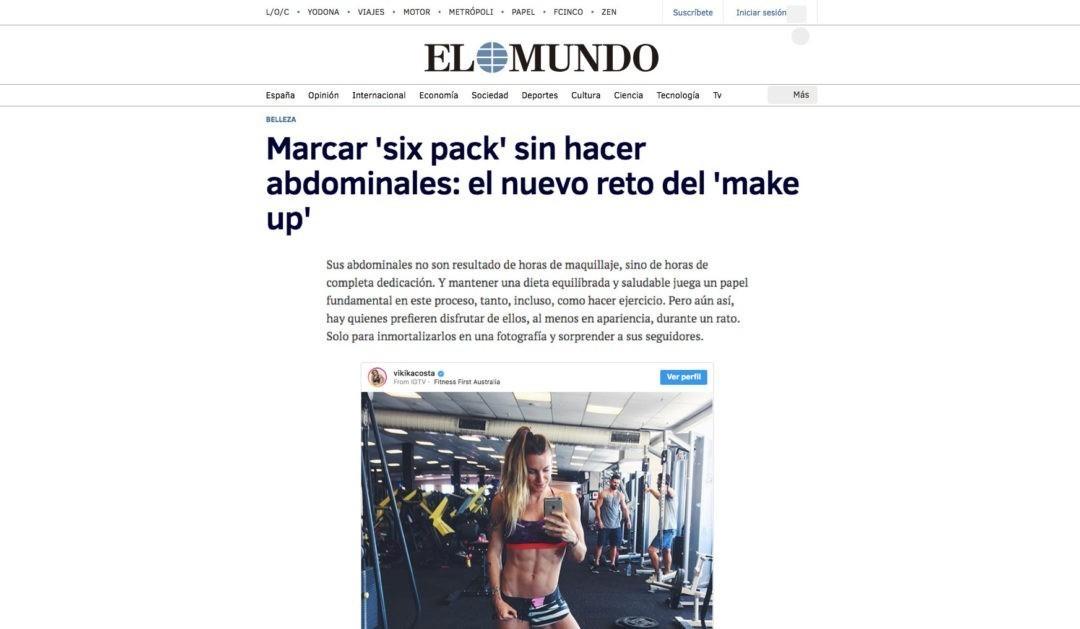 Marcar 'six pack' sin hacer abdominales