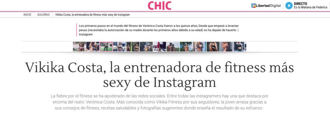Vikikka Costa, la entrenadora de fitness más sexy de instagram
