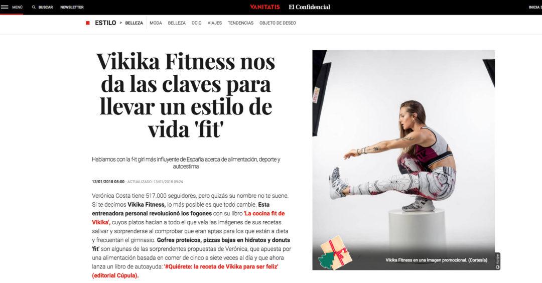 Vikika Fitness nos da las claves para llevar un estilo de vida 'fit'