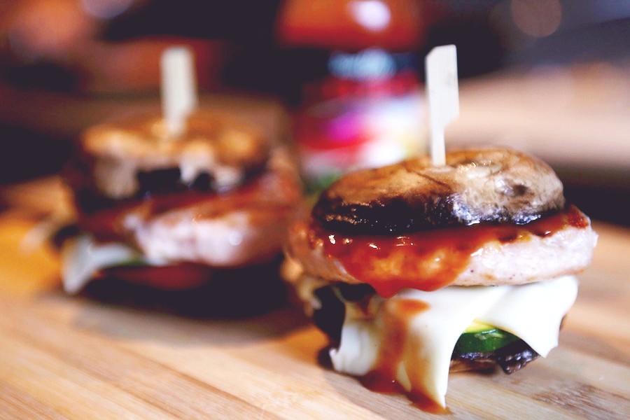 burger sin pan