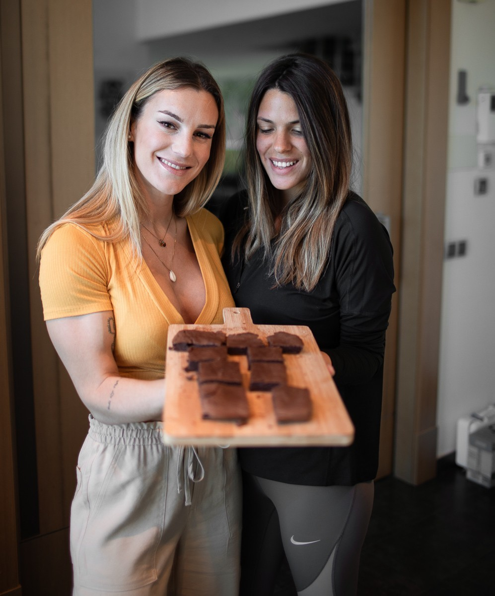BROWNIE FIT CON LAURA