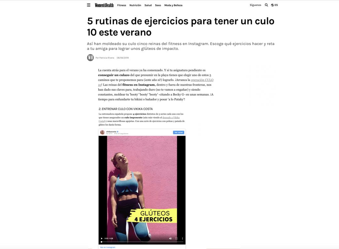 5 RUTINAS DE EJERCICIOS PARA TENER UN CULO 10 ESTE VERANO