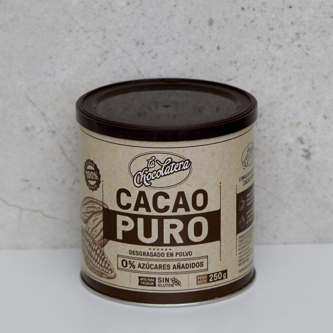CACAO PURO 0% AZÚCARES AÑADIDOS