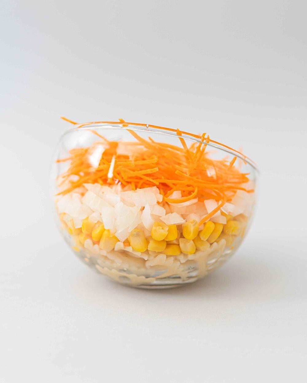 Ensalada de pasta, ¡muy sencilla y refrescante!